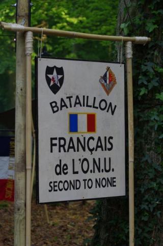CREVECOEUR, Le Bataillon Français de l'ONU en Corée. (1950-1953) Panneau-45a5270