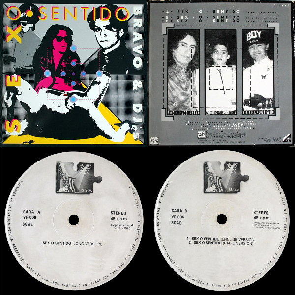 Bravo and  Dj's  Sex O Sentido Maxi Single 1990 Flac Mmm-45b2c16