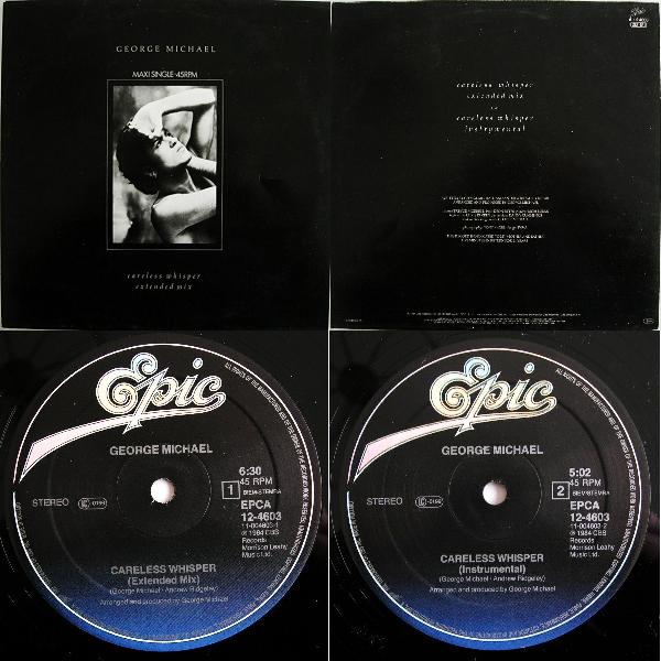 "George Michael Careless Whisper Maxi Single 12"" 1984 Flac Mmm-44c27c3"