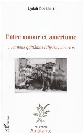 """""""Entre amour et amertume"""" de Djilali BOUKHARI Boukhari.2-4534490"""